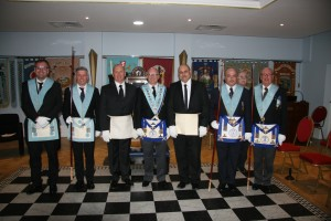 Installation of Ronnie Jordan & Paul Lowe